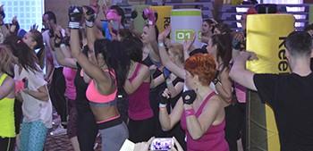 A 5-a conventie internationala de fitness Scandinavia