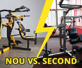 Cum alegi un aparat fitness? Nou vs second-hand