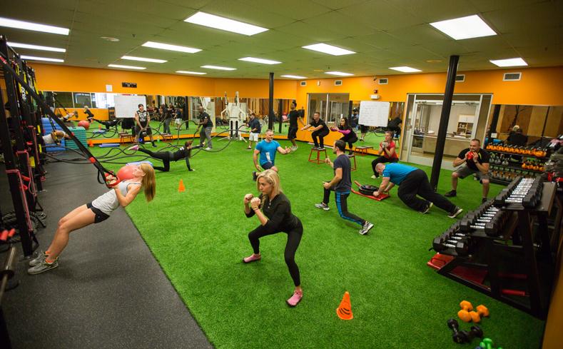 sala de fitness functional training