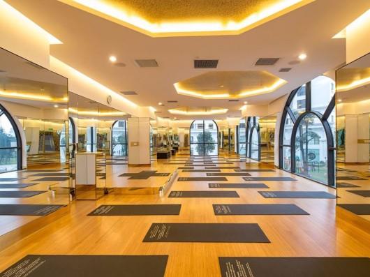 design sala de fitness