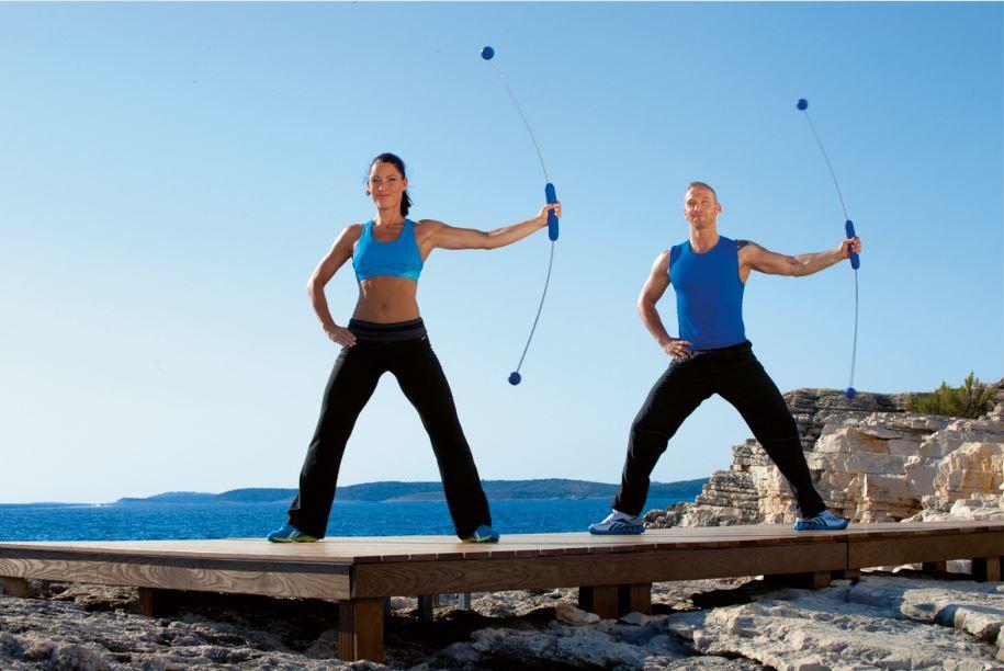 bara flexibila antrenament