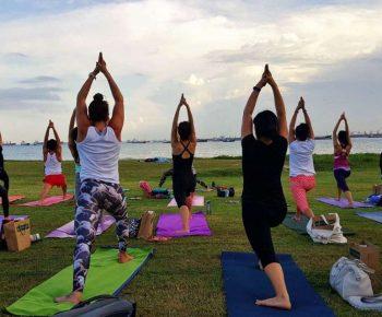 Antrenamente in aer liber – exercitii de grup
