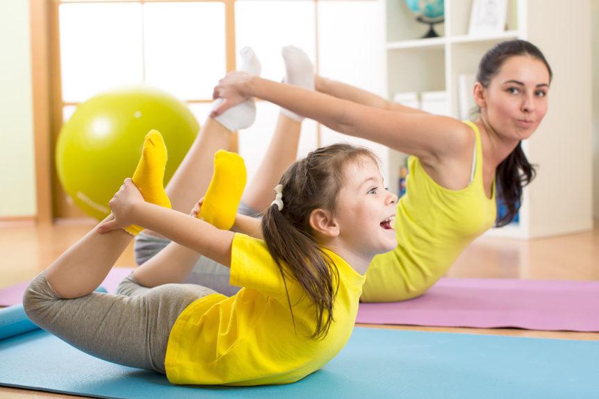 yoga copii