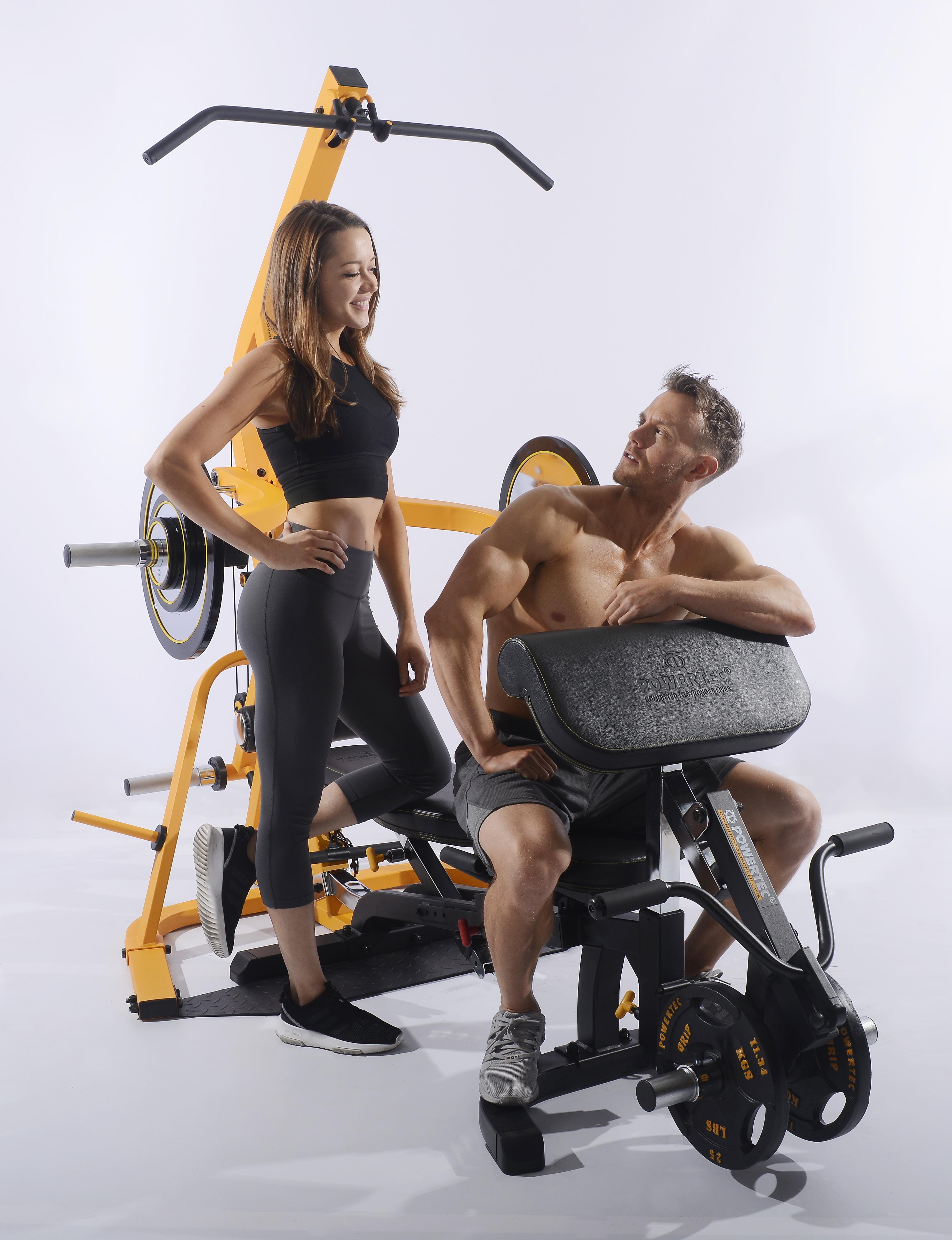 accesoriu biceps aparat multifunctional