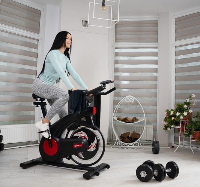 bicicleta spinning theway fitness